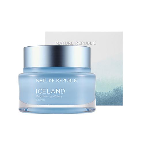 아이슬란드 브라이트닝 수분크림