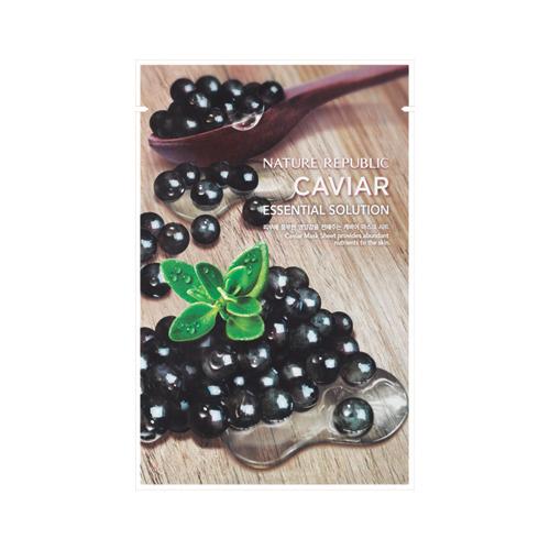 에센셜 솔루션 캐비어 마스크 시트