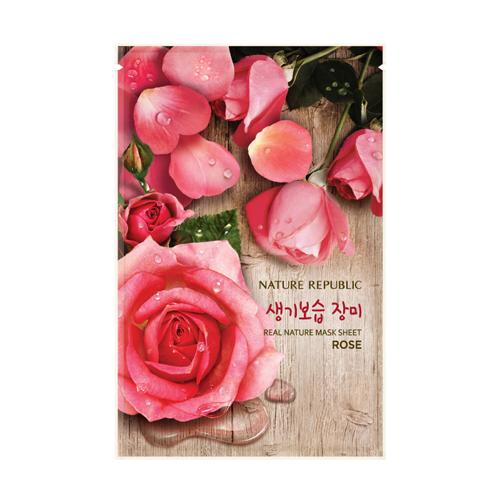 리얼 네이처 장미 마스크 시트