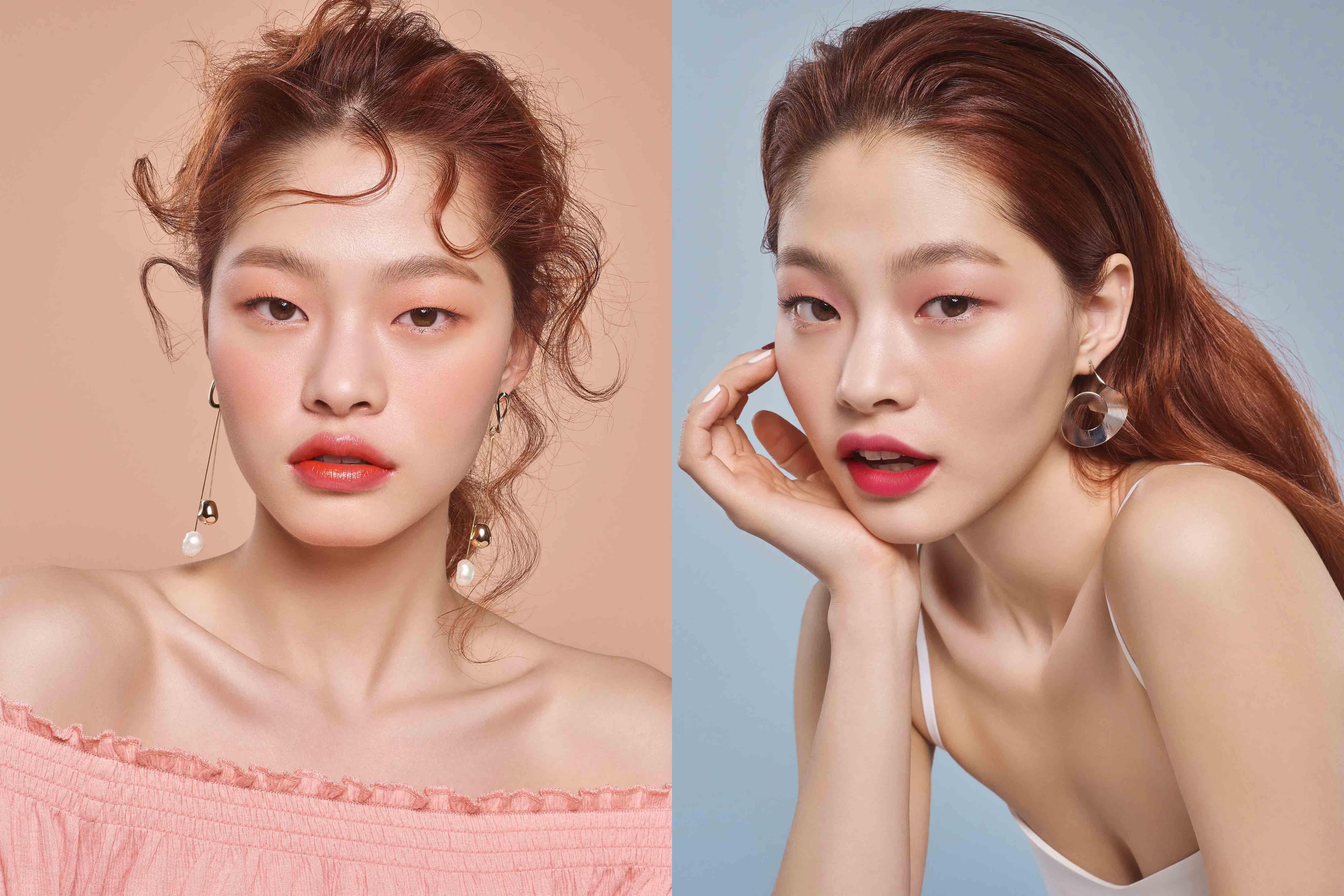 모델 김아현과 함께 사랑스러운 2018 S/S 메이크업 룩 공개