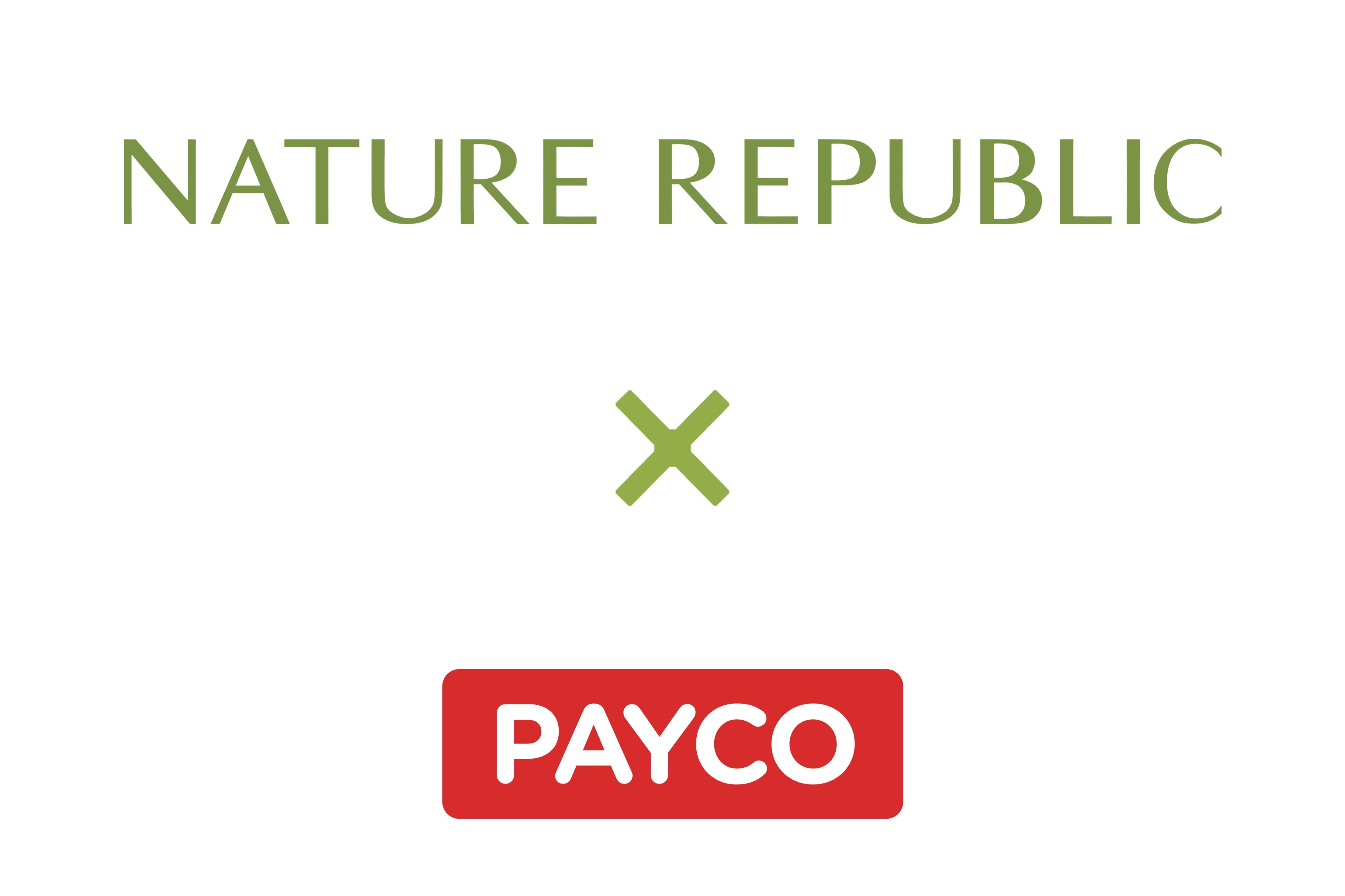 네이처리퍼블릭, 페이코로 간편하게 결제하세요!