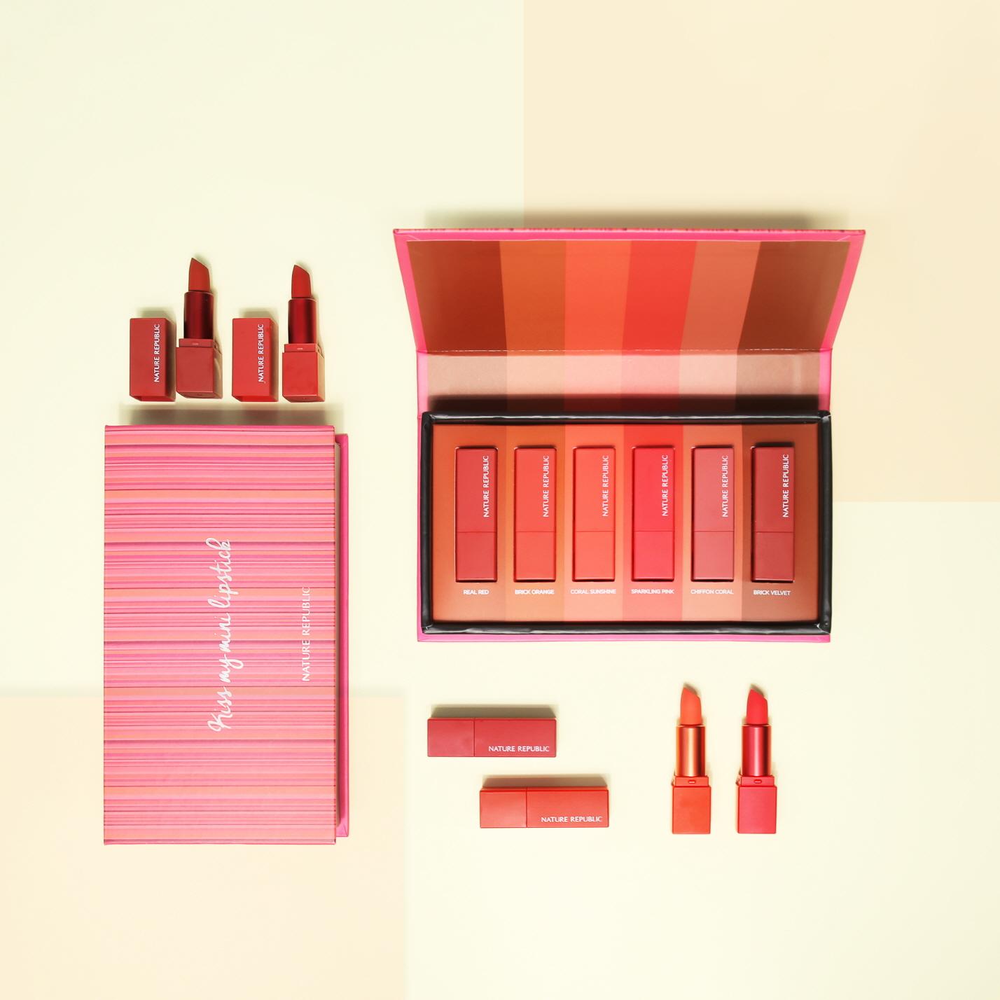인기 컬러의 미니 립스틱만을 담은 온라인 전용 제품 출시